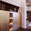 particolare zona ingresso villa privata