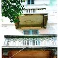 Particolari balconi prima la ristrutturazione