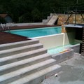 Pavimentazione contorno piscina