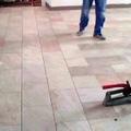pavimento in finta pietra