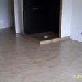 pavimento, piatto doccia e interno doccia  in resina