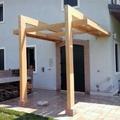 Pergola in legno