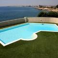 piscina a skimmer forma libera