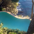 Piscina su mare (Riviera Ligure)