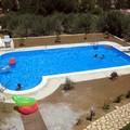 piscine a skimmer con scala romana angoli a raggio