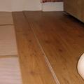 posa pavimento in  laminato