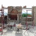 Realizzazione camino su portico esterno