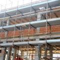realizzazione di edificio misto in legno e calcestruzzo