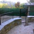 Recinzione e cancello pedonale