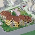 Render nuovo edificio residenziale