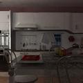 Rendering Cucina a Rignano Flaminio