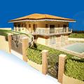 Rendering Villa a Tivoli