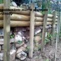 Restauro muro di pietra