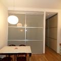 Ridistrubuzione interna di piccolo appartamento a Milano
