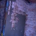Rinforzo di vecchia muratura interna in betoncino armato.