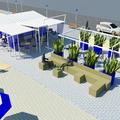 Ristrutturazione di stabilimento balneare