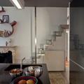 Interior design - ristrutturazione ed arredamento di un appartamento in una torre del 300 - L'a scala