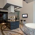Interior design - ristrutturazione ed arredamento di un appartamento in una torre del 300 - La cucina