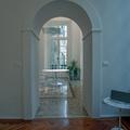 Interior design - ristrutturazione ed arredamento di un appartamento in una torre del 300 - Living