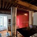 Interior design - ristrutturazione ed arredamento di un appartamento in una torre del 300 - Lo studio