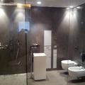 Rivestimento bagno e piatto doccia in Microcemento Topcret