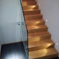 rivestimento scala con plank 190 rovere spazzolato