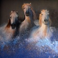 RUFFINI DECORAZIONI: trompe l'oeil cavalli