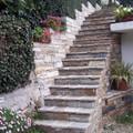 Scala in pietra di Luserna a secco