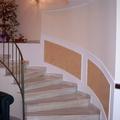 Scala pitturata in abitazione privata
