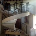 Scala realizzata in una villa a bergamo