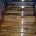 scala in legno artigianale