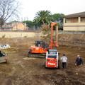 scavo costruzione villa