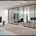 Divisori in Alluminio e Vetro