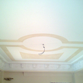 Sguscione in gesso con decorazione a soffitto de La Bottega degli Stucchi