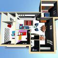 sistemazione interna di alloggio da 120 mq lordi