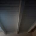 soffitto in legno sbiancato