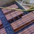 Solaio in latero-cemento con nervature in ferro