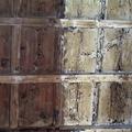 Solaio legno a cassettone prima intervento
