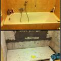 Sostitutzione vasca con doccia