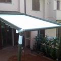 Struttura in alluminio MOVE con tenda a 2 guide BY CORRADI