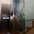 Strutture metalliche trasparenti per ascensori