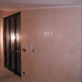 stucco marmorino eseguito a finitura