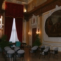 Tenda con drappeggio Palazzo Scotti