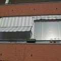 Tenda veranda doppio rullo con frangivento Torino Chieri www.mftendedasoletorino.it