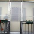 Tenda veranda invernale con tessuto VINITEX antingiallimento www.mftendedasoletorino.it