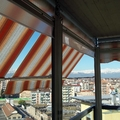 Tenda veranda vista interna www.tendedasoleachieri.it