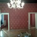 tessuto alle pareti