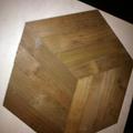 Tradizionale Lamparquet Esagono legno Robinia