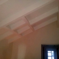 travi  soffitto scala