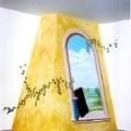 Trompe l'oeil su camino realizzato dalla De.Co di Davide Lorrai